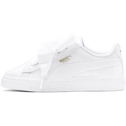 Puma Kids Basket Heart Patent Ps Shoes