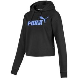 PUMA - Womens Elevated E Logo Cropped Hoody