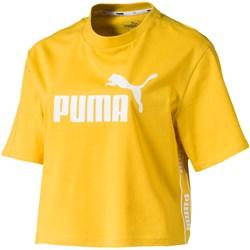 PUMA - Womens Amplified Cropped Tee