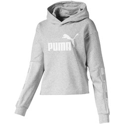 PUMA - Womens Amplified Cropped Hoody Tr
