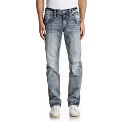 Rock Revival - Mens Ruskin J205 Straight Jeans