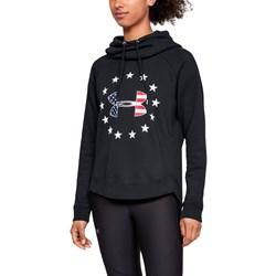 Under Armour - Womens W Freedom Logo Fav Fleece Top