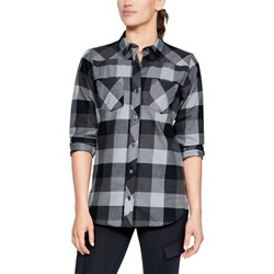 Under Armour - Womens Tradesman Flannel Long-Sleeves T-Shirt