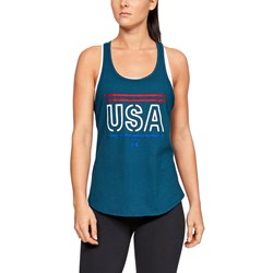 Under Armour - Womens W Freedom USA Tank Top