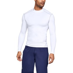 Under Armour - Mens Coldgear Armour Compression Mock Long-Sleeves T-Shirt
