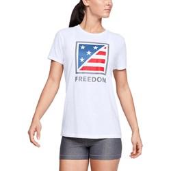 Under Armour - Womens Freedofolded Flag T-Shirt