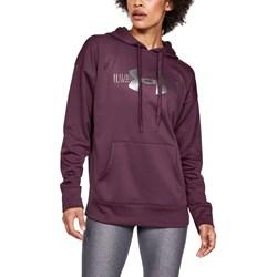 Under Armour - Womens Synthetic Graphic Logo Fleece Top