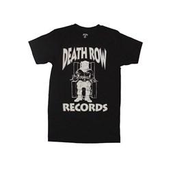 Death Row - Mens Deathrow White Logo T-Shirt