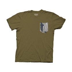 Attack on Titan - Mens Survey Corps T-Shirt
