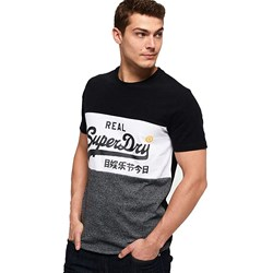 Superdry - Mens Vintage Logo Panel T-Shirt