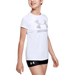Under Armour - Girls Big Logo Solid SS T-Shirt