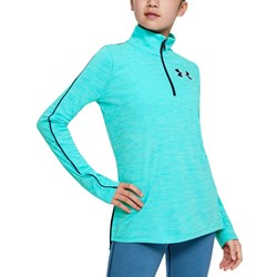 Under Armour - Girls Tech 1/2 Zip Long-Sleeves T-Shirt