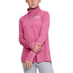 Under Armour - Girls Tech 1/2 Zip Long-Sleeves T-Shirt