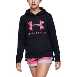 Under Armour - Girls Rival Print Fill Logo Warmup Top
