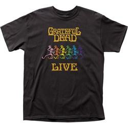 Grateful Dead Mens Live Adult T-Shirt