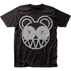 Radiohead Mens Bear Organic Fitted Jersey T-Shirt