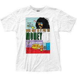 Frank Zappa Mens Money Fitted Jersey T-Shirt