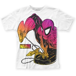 Spider-Man Mens Chormatic Fitted Jersey T-Shirt