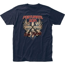 John Fogerty - Mens Fortunate Son Fitted Jersey T-Shirt