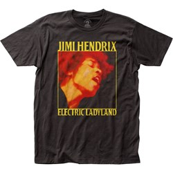 Jimi Hendrix - Mens Electric Ladyland Fitted Jersey T-Shirt