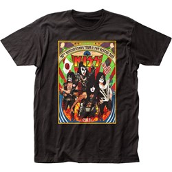 Kiss - Mens Japan Tour Fitted Jersey T-Shirt