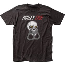 Mötley Crüe - Mens Shout At The Devil Tour Fitted Jersey T-Shirt