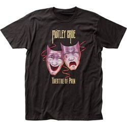 Mötley Crüe - Mens Theatre Of Pain Fitted Jersey T-Shirt