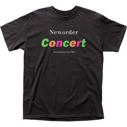 New Order - Mens Concert T-Shirt