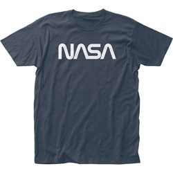 Nasa - Mens Retro Logo Fitted Jersey T-Shirt