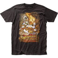 Duck Tales The Movie - Mens Lost Lamp Fitted Jersey T-Shirt