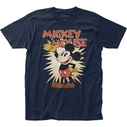 Mickey Mouse - Mens Wave Fitted Jersey T-Shirt