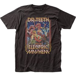 The Muppets - Mens Dr. Teeth Band Fitted Jersey T-Shirt