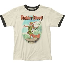 Robin Hood - Mens Fitted Jersey T-Shirt