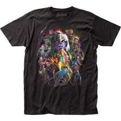 Avengers: End Game - Mens Fitted Jersey T-Shirt