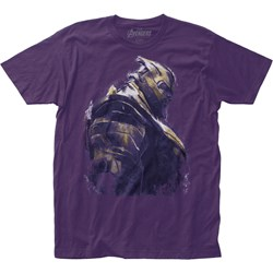 Avengers: End Game - Mens Thanos Fitted Jersey T-Shirt