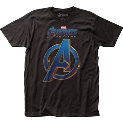 Avengers: End Game - Mens Logo Fitted Jersey T-Shirt
