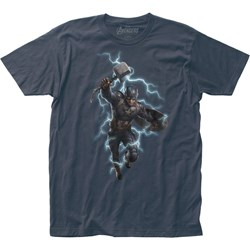 Avengers: End Game - Mens Worthy Fitted Jersey T-Shirt