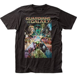 Guardians Of The Galaxy - Mens Gauntlet Fitted Jersey T-Shirt