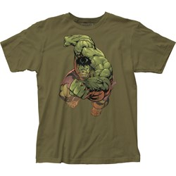 The Incredible Hulk - Mens Punch Fitted Jersey T-Shirt