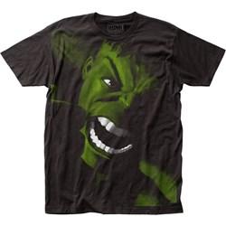 The Incredible Hulk - Mens Yell Big Print Subway T-Shirt