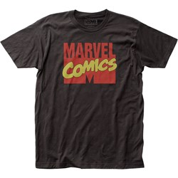 Marvel Universe - Mens Marvel Comics Fitted Jersey T-Shirt