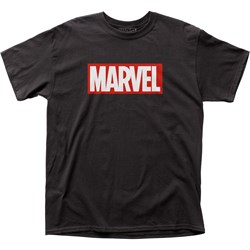 Marvel Universe - Mens Marvel Comics Marvel Logo T-Shirt
