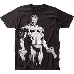 Punisher - Mens The Big Nothing Big Print Subway T-Shirt