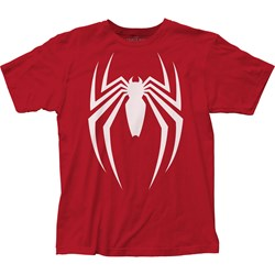 Spider-Man - Mens Video Game Logo Fitted Jersey T-Shirt