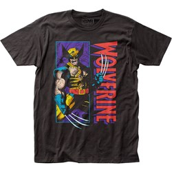 Wolverine - Mens Shredded Fitted Jersey T-Shirt