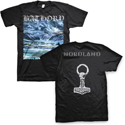 Bathory - Mens Nordland T-Shirt