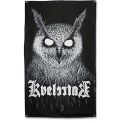 Kvelertak - Bartlett Owl Flag Fabric Poster