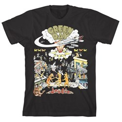 Green Day - Mens Dookie Scene T-Shirt