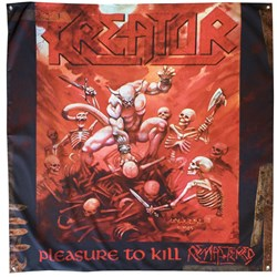 Kreator - Pleasure To Kill Flag (48X48)