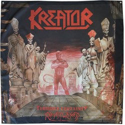 Kreator - Terrible Certainty Flag (48X48)